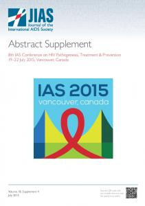 8th IAS Conference on HIV Pathogenesis, Treatment and Prevention (IAS 2015).