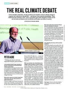 The real climate debate.